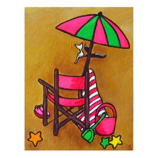 """Beach Days"" Post Card"