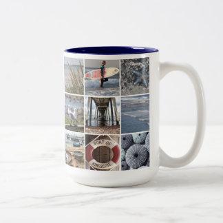 Beach Days Two-Tone Coffee Mug