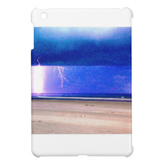 beach delight.Storms at the beach are beautiful iPad Mini Covers