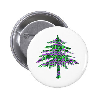 Beach Delite Trees Pinback Buttons