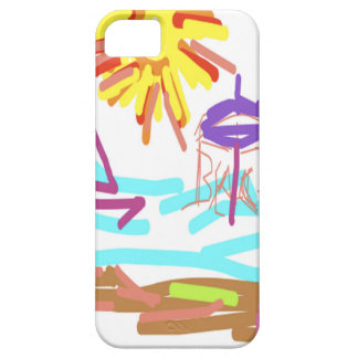 Beach Design by Carole Tomlinson iPhone 5 Covers