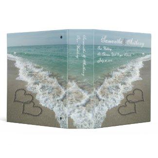 Beach Destination or Cruise Wedding Album Planner binder