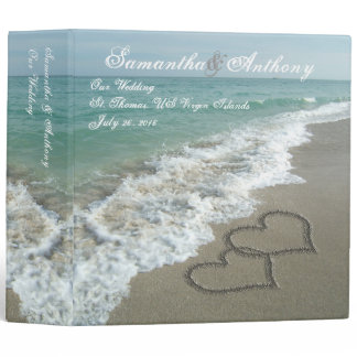 Beach Destination or Cruise Wedding Album Planner Binder