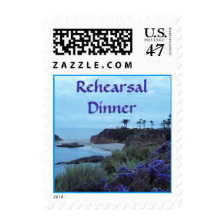 Beach Destination Rehearsal Dinner Postage