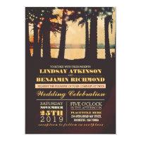 Beach - Destination Wedding Invitation