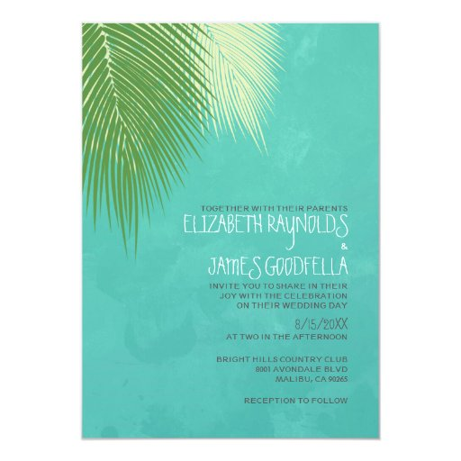 beach destination wedding invitations zazzle With destination wedding e invitations