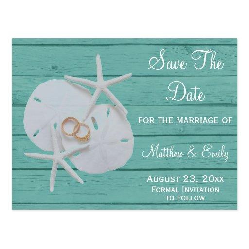 beach destination wedding save the date postcards zazzle
