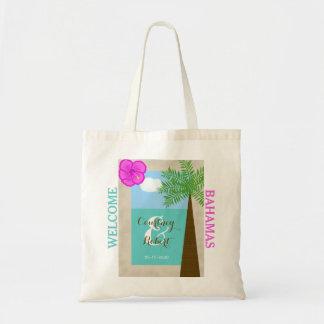 Beach Destination Wedding Welcome Bags Budget Tote Bag