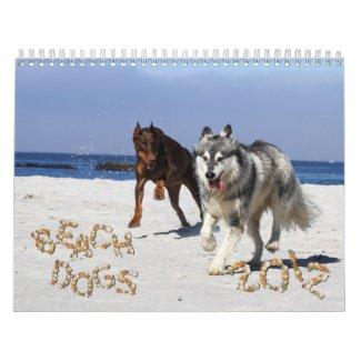Beach Dogs 2012 Calendar