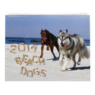 Beach Dogs 2014 Calendar