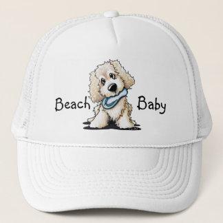 Beach Doodle Dog Trucker Hat