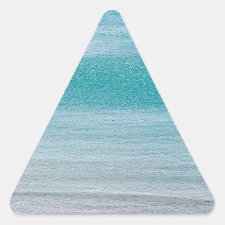 Beach Door County WI Triangle Sticker