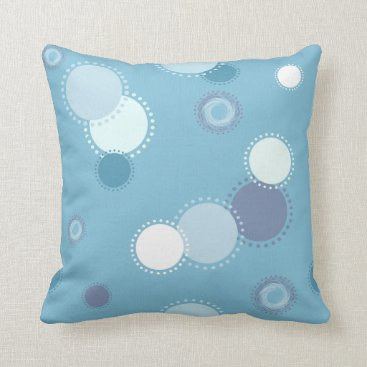 Beach Themed Beach Dots Pillow