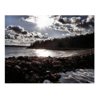Beach Drama Postcard