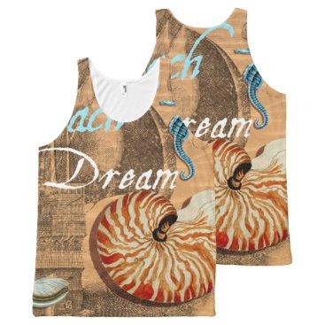 Beach Themed Beach Dream All-Over-Print Tank Top