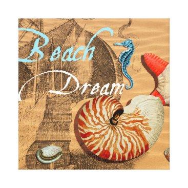 Beach Themed Beach Dream Canvas Print