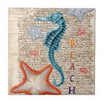 """Beach Dream Ceramic Tile<br><div class=""""desc"""">Beach</div>"""