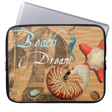 Beach Themed Beach Dream Computer Sleeve
