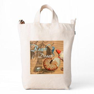 Beach Themed Beach Dream Duck Bag