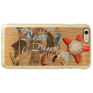 Beach Themed Beach Dream Incipio Feather Shine iPhone 6 Plus Case