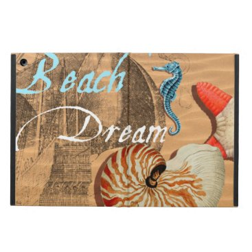 Beach Themed Beach Dream iPad Air Cover