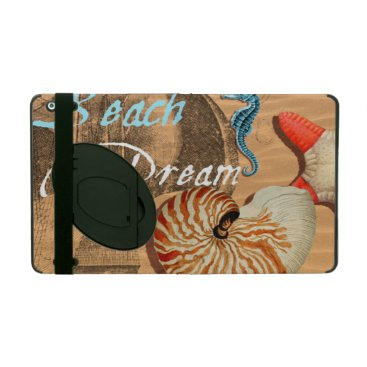 Beach Themed Beach Dream iPad Cover