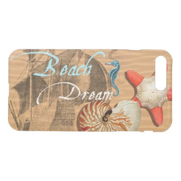Beach Themed Beach Dream iPhone 7 Plus Case