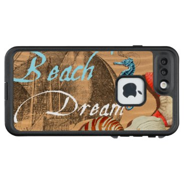 Beach Themed Beach Dream LifeProof FRĒ iPhone 7 Plus Case