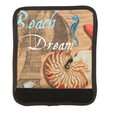 Beach Themed Beach Dream Luggage Handle Wrap
