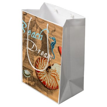 Beach Themed Beach Dream Medium Gift Bag