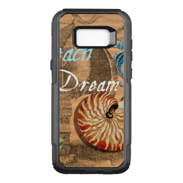 Beach Themed Beach Dream OtterBox Commuter Samsung Galaxy S8  Case