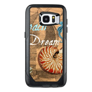 Beach Themed Beach Dream OtterBox Samsung Galaxy S7 Edge Case