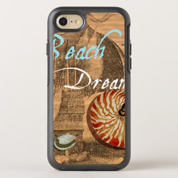 Beach Themed Beach Dream OtterBox Symmetry iPhone 7 Case