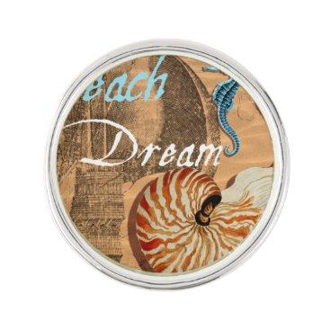 Beach Themed Beach Dream Pin