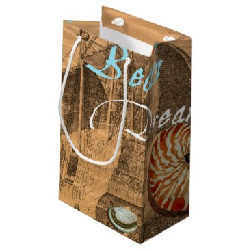 Beach Themed Beach Dream Small Gift Bag
