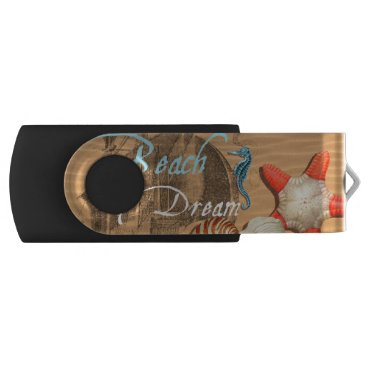 Beach Themed Beach Dream USB Flash Drive