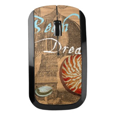 Beach Themed Beach Dream Wireless Mouse