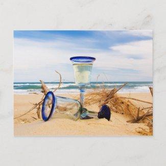 Beach Dreaming Postcard postcard