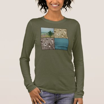 Beach Themed Beach Dreams Long Sleeves Fine Jersey Top