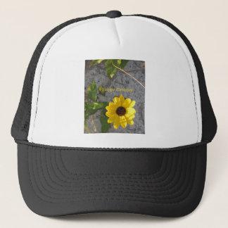 Beach Dune Daisy Happy Birthday Trucker Hat