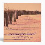 Beach Dunes Guest Book Binder