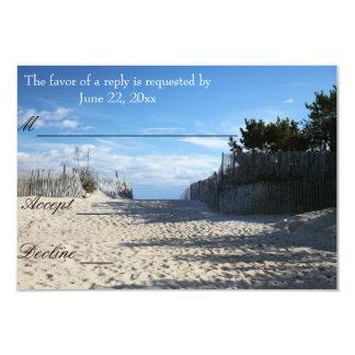 Beach Entrance RSVP cards