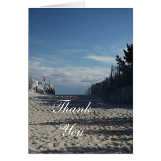 Beach Entrance Thank You Notes