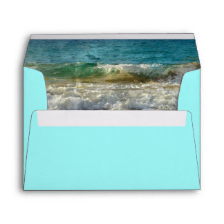 Beach Envelope for Island or Tropical Wedding