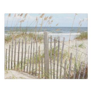 Beach Faux Canvas Print