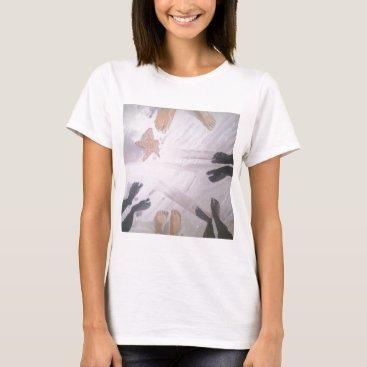 Beach Themed Beach Feet T-Shirt