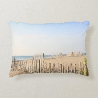 Beach Fence Accent Pillow