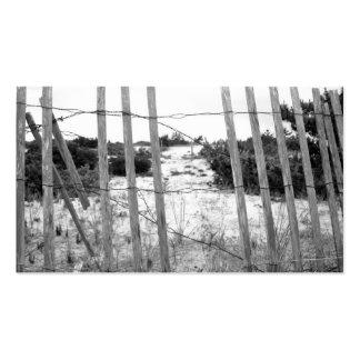 Beach Fence Business Card