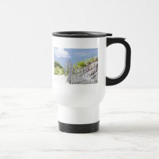 Beach Fence & Dune Travel Mug