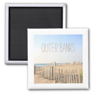 Beach Fence Outer Banks Magnet